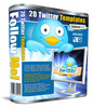Thumbnail 20 Twitter Templates with PLR/MRR