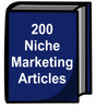 Thumbnail 200 Niche Marketing Articles w/ Private Label Rights
