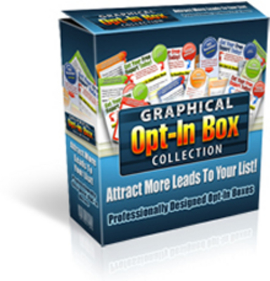 Product picture Graphical Opt-In Template Collection w/ Master Resell Rights