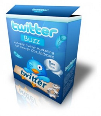 Product picture Twitter Buzz Marketing software w/ Master Resell Rights