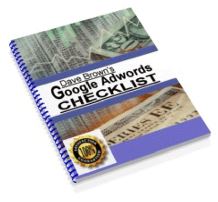 Product picture Google Adwords Checklist