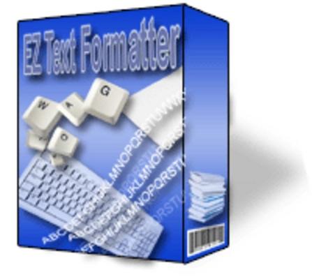 Product picture EZ Text Formatter