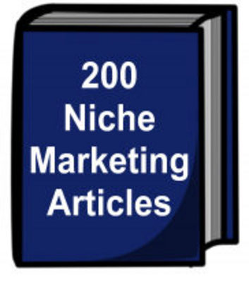 Product picture 200 Niche Marketing Articles w/ Private Label Rights
