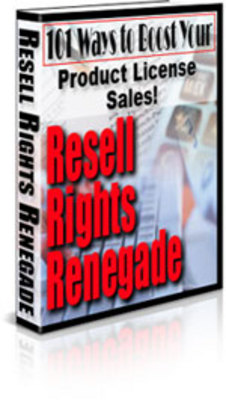 Product picture  Resell Rights Renegade