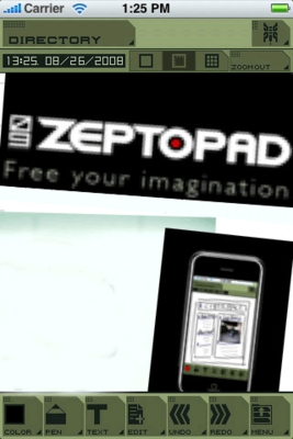 Product picture ZeptoPad-v1.6 for IPhone